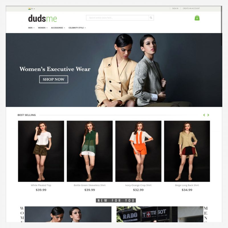 Dudsme - A Happy Client of Digital Marketing Expert Lakshya Sharma