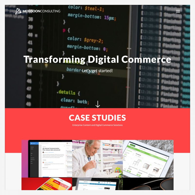 MonsoonConsulting - A Happy Client of Digital Consultant Lakshya Sharma
